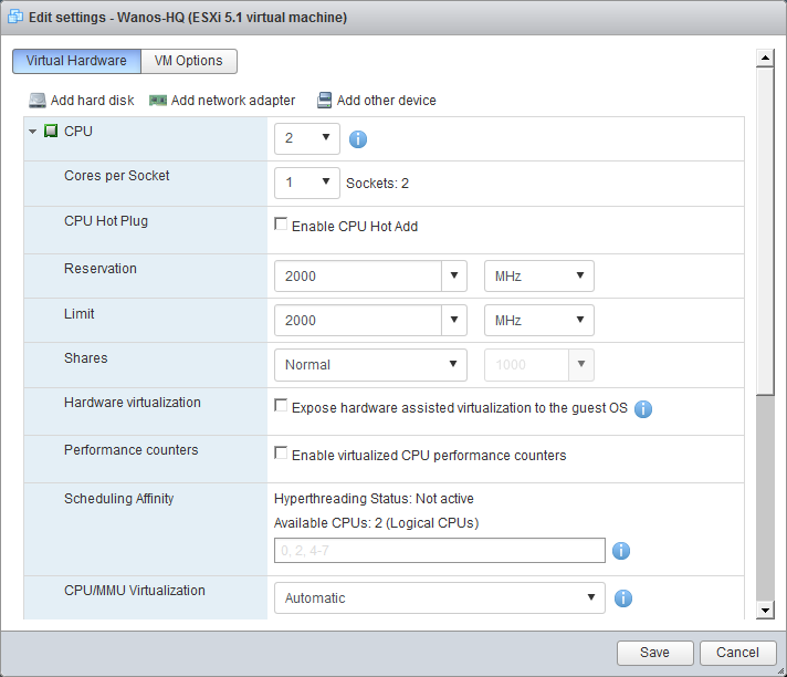 ESXi - Wan Optimization Software