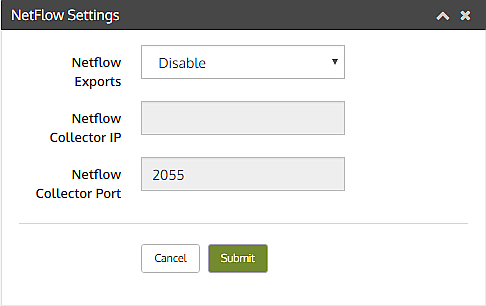 Netflow Settings